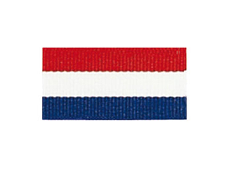c573eff7 Billede 1 af Medaljebånd - rød/hvid/blå